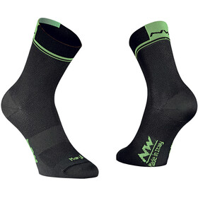 Northwave Logo 2 Cycling Socks green/black